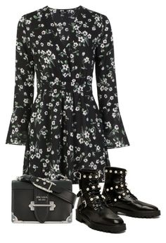 """""""Untitled #5071"""" by theeuropeancloset on Polyvore featuring Boohoo, Parlor and Prada"""