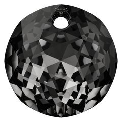 SWAROVSKI® 6430 Classic Cut Pendant (001 SINI Crystal Silver Night) Innovation, Swarovski, Spring Summer, Crystals, Night, Pendant, Classic, Silver, News