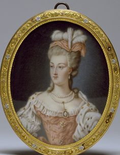 Tea at Trianon: A Vallayer-Coster Portrait of Marie-Antoinette
