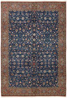 Dark Blue 7 x 7 Bidjar Persian Rug Blue Persian Rug, Persian Carpet, Kilim Rugs, Boho Rugs, Dark Blue, Red Black, Blue Green, Hand Knotted Rugs, Rugs On Carpet