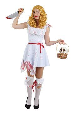 DisfracesMimo, disfraz de dorothy halloween para mujer varias tallas. Tendrás que seguir el camino de baldosas amarillas con este disfraz del mago de oz. Acompáñate del León, del Hombre de Hojalata y del Espantapájaros para bailar en Halloween. Este disfraz es ideal para tus fiestas temáticas de disfraces de miedo y cuentos para mujer adultos.