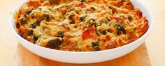 Nudel-Spinat-Auflauf | Vegetarische Gerichte zum Abnehmen von Almased