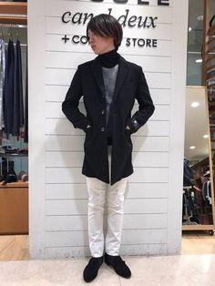 モノトーンコーデ ホワイト×ブラックでメリハリのある大人モノトーンスタイルに。 インナーで柄物使いをすることで、こなれた雰囲気を出せます。