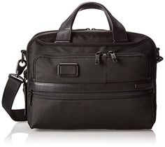 Tumi Alpha 2 Small Screen Expandable Laptop Brief Black One Size >>> You can get more details by clicking on the image.