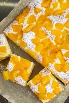 Szybkie ciasto jogurtowe - Orchideli - przepisy na torty i słodki stół Waffles, Pineapple, Food And Drink, Dairy, Sweets, Bread, Cheese, Fish, Diet
