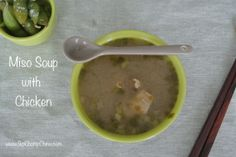 This is so healthy and tasty - a great variation if you're like me a hate tofu! Miso Soup, Cheeseburger Chowder, Tofu, My Recipes, Hate, Chicken, Healthy, Kitchen, Cooking