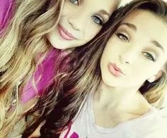 maddie ziegler and Kendall vetes