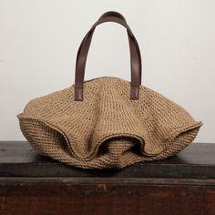 Funny japanese crochet bag - no pattern                                                                                                                                                                                 More