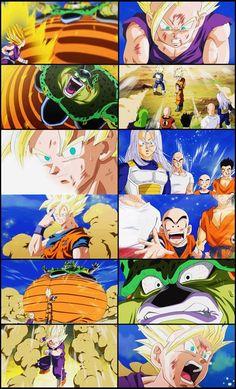 Dragon Ball Z Goku's Sacrifice- this scene is so sad :(