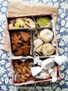 Perenaise Pagariäri blogi: Maiustusi pühadeks, karbike tellimiseks