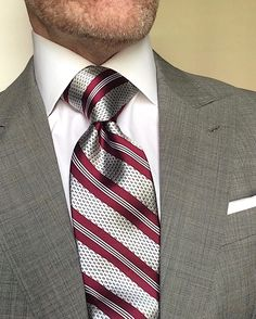 London York Executive Knot Ties: Cut to make a more substantial knot for an elegant, powerful look. www.london-york.com