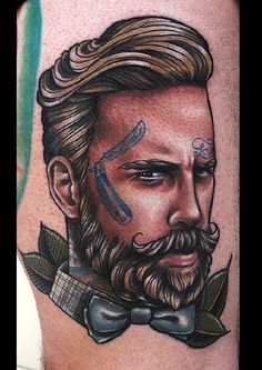 Neo-traditional - Tattoo by Roza Sake tattoo crew.