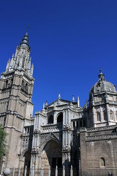 Toledo Cathedral was one of the coolest places I visited in Spain in spring of 1986.