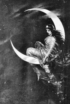 Why don't modern women like to sit on the moon??