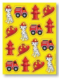 Feuerwehrsticker bei www.party-princess.de