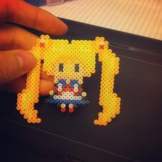 Sailor Moon perler beads by yhunee