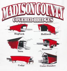 covered bridges of Madison County iowa -