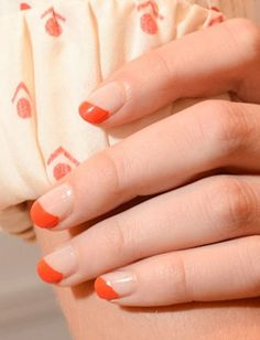Nails:  2 coats of OPI Don't Touch my Tutu before adding a diagonal strip of red-orange A Roll in the Hague.