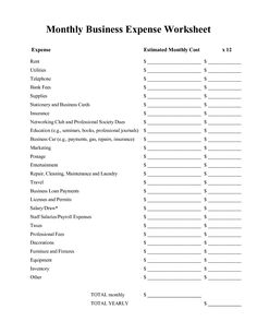 Worksheets Living Expenses Worksheet pinterest the worlds catalog of ideas monthly business expenses worksheet expense worksheet