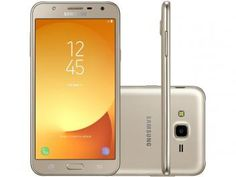 "Smartphone Samsung Galaxy J7 Neo 16GB Dourado - Dual Chip 4G Câm. 13MP Tela 5,5"" HD Proc.Octa Core"