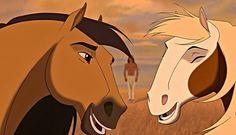 Dreamworks Animation Wallpaper: ★ Spirit Stallion of the Cimarron ☆ Spirit Horse Movie, Spirit The Horse, Spirit And Rain, Dreamworks Movies, Dreamworks Animation, Disney And Dreamworks, Animation Movies, Childhood Movies, Kid Movies