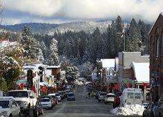Victorian Christmas in Nevada City California
