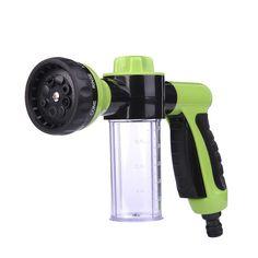 Nueva Pistola de Agua de Lavado de Coches de Espuma Verde Coche Durable Lavadora Portátil de Alta Presión De Lavado de Coches de Boquilla Envío Libre