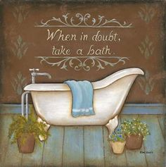 When in Doubt Poster Print by Kim Lewis (12 x 12) - $11.40. https://www.tanga.com/deals/3092073ecd71/when-in-doubt-poster-print-by-kim-lewis-12-x-12