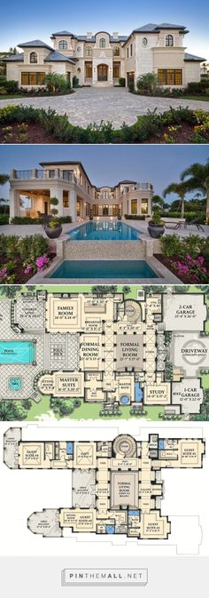 World Class 8001 sq ft mansion floor plan