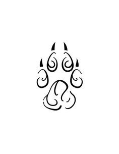 ... Tattoos | Pinterest | Pfotenabdruck-Tattoos Druck Tattoos und Tattoos