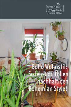 Boho Wohnstil einfach umgesetzt: So erhält dein Zuhause Bohemian Flair mit wenigen Mitteln. [unbezahlte werbung + affiliate links] Wichtige Must Haves für dein gemütliches Heim im Boho Style. #Bohostyle #bohemian #bohemien #bohostil #bohohome #eclecticliving #vintagelove #plantlover #bohemians #bohostil #bohomöbel #bohemiandecor #bohodeko Bohemian Living, Mid-century Interior, Boho Home, Boho Stil, Lifestyle Blog, Mid-century Modern, Mid Century, Home Decor, Rough Wood