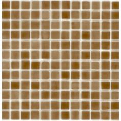 Elida Ceramica�12-1/2-in x 12-1/2-in Root Beer Glass Mosaic Square Wall Tile (Actuals 12-1/2-in x 12-1/2-in)