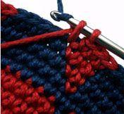 Tapestry crochet tutorials (also called mosaic crochet, jacquard crochet, intarsia, colorwork, fair isle, cameo, and hard crochet)