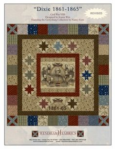 Free pdf quilt pattern--we had this panel but it sold out quickly!