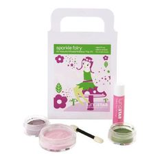 Christmas 2016 gift for our beautiful granddaughter.  Luna Star ALL NATURAL Real Makeup Kit for kid's dress up play time. ALL NATURAL Makeup Kit for kids, I'm putting in her new personalized makeup bag I had made for Christmas this year. Every morning as my daughter stands in front of the mirror putting on her makeup before leaving for work, my grand baby stands beside her putting on her pretend or all natural real playtime makeup.  So precious I'll keep adding to her makeup collection.