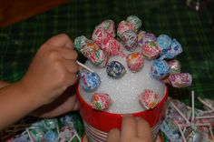 Image detail for -The Stuff Of Success: Lollipop Centerpiece