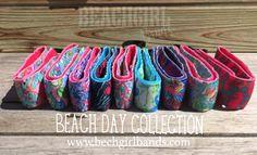 BEACH DAY Collection www.beachdaybands.com Adjustable Performance Headbands