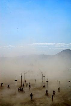 """Burning Man 2009"" by Christel van der Boom"