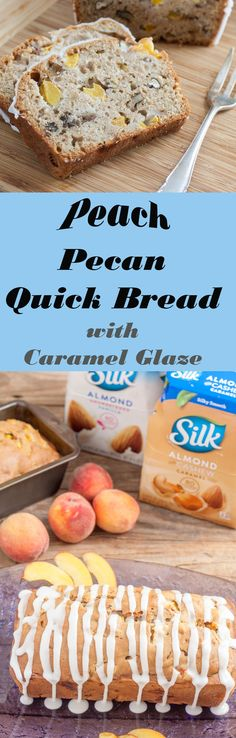 Silk®️️ Peach Pecan Quick Bread 6