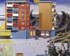 German artist Matthias Weischer (1973) constructs imaginary rooms through paintings at the brink between realism and absurdity. The eclectic interiors appear as collages of objects and styles somehow unfinished and always revealing a bit of what is happening outside, being it the space over the...