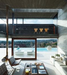 Pitch's House by ICA arquitectura-- love this living room