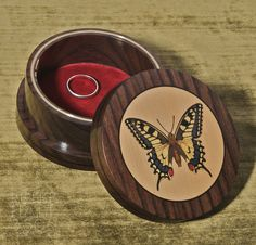 Marquetry Jewellery Box. A beautiful box for beautiful things.