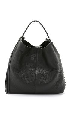 b771dc445214 Rebecca Minkoff Unlined Hobo Black Shoulder Bag
