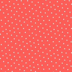 Delight - Geometric Hearts Fabric