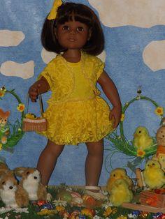 joyeuses fêtes de Pâques. Gotz doll: Maya. blog Lilianedolls. www.Lilianedolls.skyrock.com.