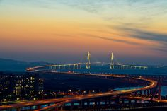 Incheon Bridge from Dongchun Tunnel #3 | Location: Dongchun … | Flickr
