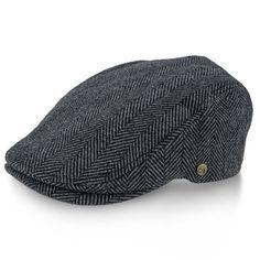 4622d534dae5a Main Street - Walrus Hats Tweed Herringbone Ivy Cap - Driving Cap Driving  Cap