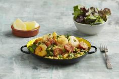 Chorizo   Prawn Paella