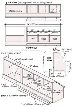 Chicken Coop - Plan dun poulailler Building a chicken coop does not have to be tricky nor does it have to set you back a ton of scratch. Chicken Coop Designs, Chicken Coop Plans Free, Easy Chicken Coop, Backyard Chicken Coops, Building A Chicken Coop, Chickens Backyard, Clean Chicken, Chicken Feeders, Chicken Barn