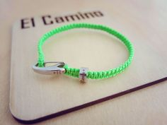 "What do you think of our sample ""Lime Green"" El Camino? We're not convinced! All El Camino products are available exclusively from www.elcaminobracelets.com #elcaminob #jewellery #bracelet #bead #charm #travel #travelling #backpacker #backpacking #gapyear #tourist #holiday #style #swag #gift #instatravel #handmade #jewelry #gift #memories #fashion #festival #lime"
